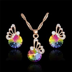 Rainbow butterfly set